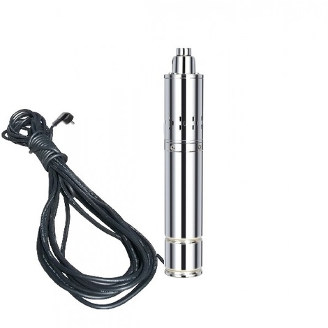 Varan Motors - TSSM15-120-11 Submersible water pump for deep well or borehole 120m 1.1Kw, 1.5m3/h + 15m cable