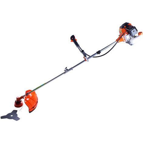 Varan Motors - TT-BC520 PETROL BRUSH CUTTER 52CC 3HP WITH BLADE AND WIRE CUT SET PROVIDED!