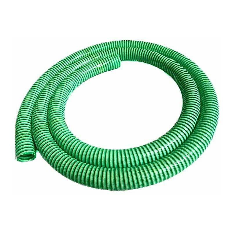 tuyauaspi3-5m PVC Manguera de aspiración de 3'' Rollo de 5 metros - Verde - Varan Motors