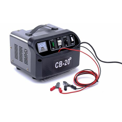 Varan Motors - var-CB-20 Cargador de batería 12V y 24V 60~200Ah