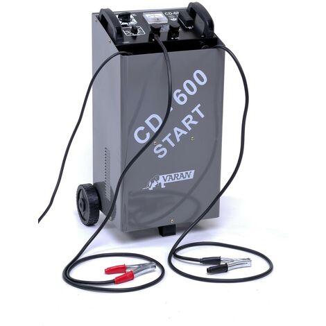 Varan Motors - var-cd-600 Battery charger 12V 60A & 24V, 20 ~ 1000Ah + Booster function
