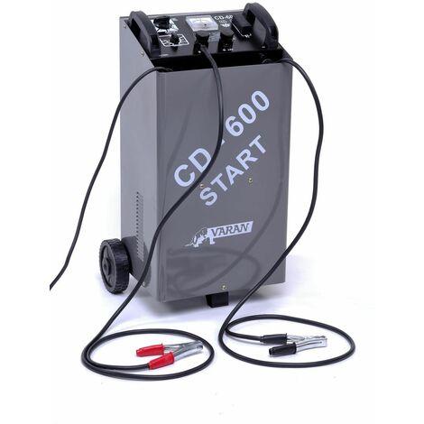 Varan Motors - var-cd-600 Cargador de batería 12V 60A y 24V, 20~1000Ah + función Booster