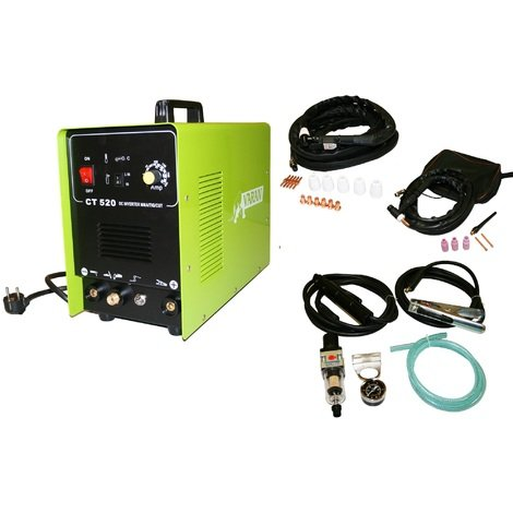 Varan Motors - var-ct520-3 TIG & ARC Welding and PLASMA cutting machine CT520 Inverter+ Accessories