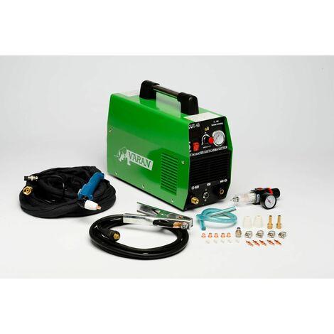 Varan Motors - var-cut40-2 Découpeur Plasma 40A portatif CUT-40 Inverter + manomètre et écran digital