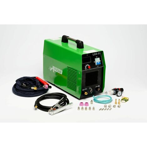 Varan Motors - var-cut60-2 Cortador de plasma 60A portátil CUT-60 inverter + manómetro de presión