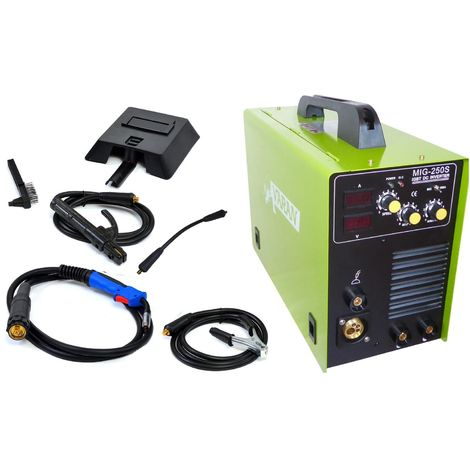 Varan Motors - var-mig250s Arc and MIG 250A welding station, digital display+ Accessories