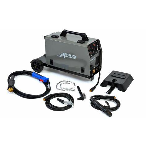 Varan Motors - var-migmma160 Poste à souder à l'arc portatif MIG MMA-160 Inverter + Accessoires
