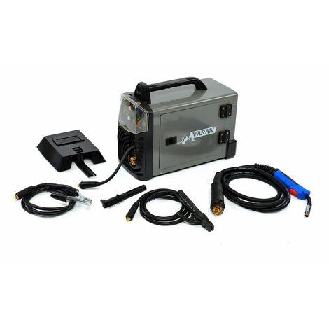 Varan Motors - var-migmma200 Soldadora de arco portátil Inverter MIG MMA 200A + Accesorios