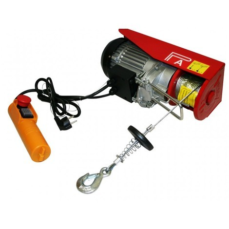 Varan Motors - var-PA800M 800KG ELECTRIC POWER HOIST WINCH LIFT GARAGE MOTOR LIFT 230V 1300W CABLE 12M
