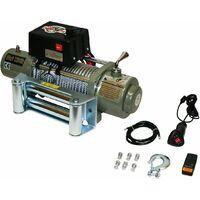 Varan Motors - var-sc12000LB Treuil électrique 12V 5443KG 4800W, Treuil à câble longueur 28m Ø9.4mm