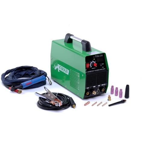 Varan Motors - var-tig250s Welding Station TIG 250A, Portable and Inverter + ARC + Accessories