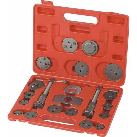 Varan Motors - VT01027 Set Repousse piston d'étrier de frein, Kit d'outils 22 pièces