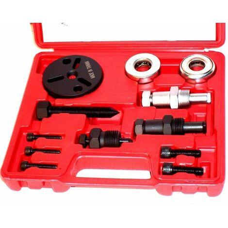 Varan Motors - VT01040 Outil de démontage de compresseur de climatisation, outil climatisation - Rouge