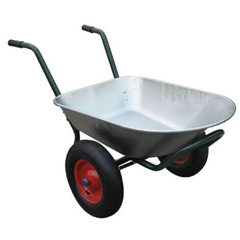 Varan Motors - WB6407 Carretilla de 2 ruedas, 80 litros, 120Kg max