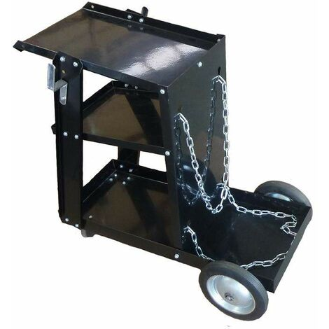 Varan Motors - WT002 Serving trolley for Welding Station with 3 levels, 45Kg