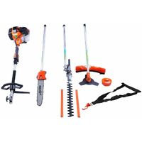 Varan Motors - XY-T520 4 IN 1 SET BRUSH CUTTER HEDGE TRIMMER CHAINSAW STRIMMER 52CC 3HP