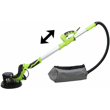 Varan Motors - ZL-225A Telescopic dry wall sander for plaster and plasterboard, with dust suction and bag