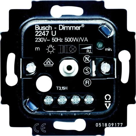 Varialuce Frutto Busch-Jaeger Duro 2000 SI Linear, Duro 2000 SI, Reflex SI Linear, Reflex SI, Solo, Alpha Nea, Alpha