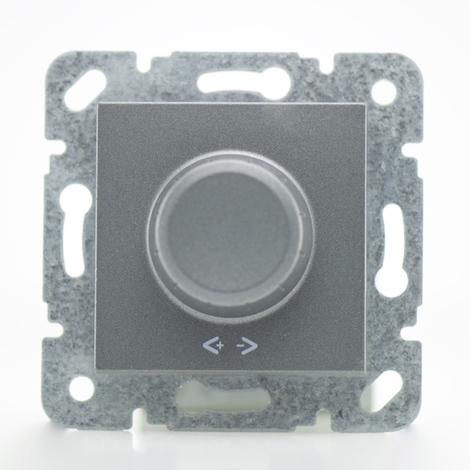 Variateur 600W fumé - (Méca+touche) gamme Karre Novella