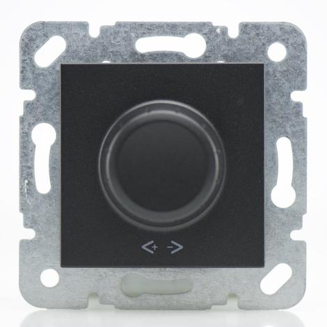 Variateur 600W noir - (Méca+touche) gamme Karre Novella