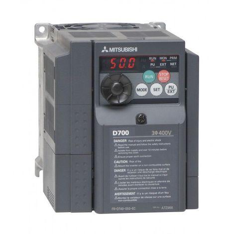 Variateur de fréquence FR-D720S 0,1Kw 0.8A (220-230 Mono)-(220-230 Tri) IP20