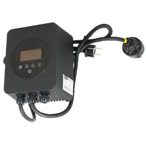 Variateur de vitesse - Pour pompe monophasée jusqu'à 1,5 CV de Aqualux - Pompe piscine