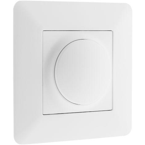 Variateur rotatif compatible LED Blanc - Artezo