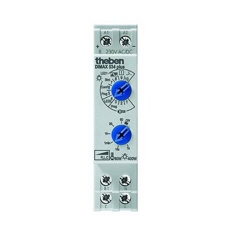 Variateur universel modulaire Dimax 534 plus - Rail Din - Blanc