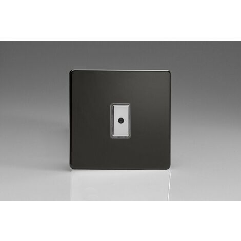 Varilight 1-Gang 1-Way V-Pro Multi-Point Remote/Tactile Touch Control Master LED Dimmer 1 x 0-100W (1-10 LEDs) - JDLE101S