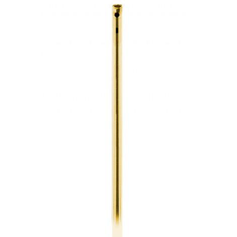 Varilla Bicromatada Para Cremona Latón Oro - AYR - 1256 - 1,30 M