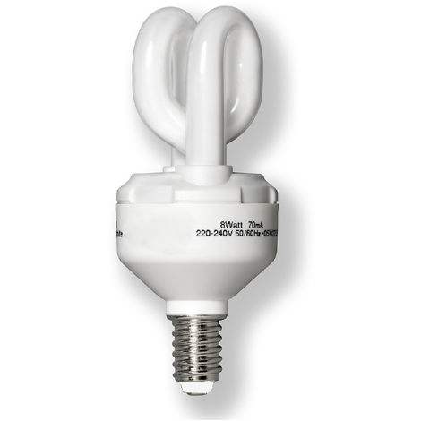 Varilux VX6608APO Röhrenlampe E14 8W= ca. 40W Warmweiß 2700K Sparlampe 420lm