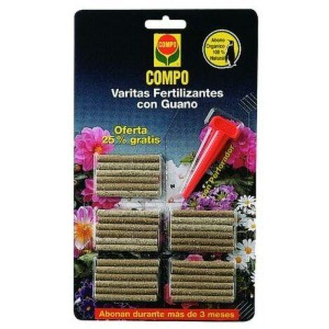 Varitas fertilizantes guano Compo, 26 ud