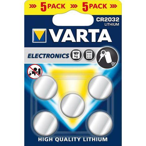 Varta Batterie Electronics CR2032 5er Blister