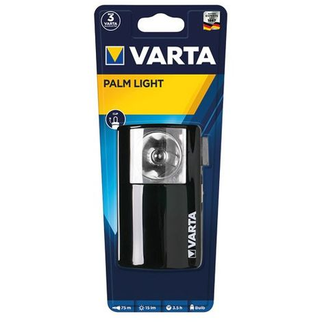 VARTA - Boitier en métal Palm Light