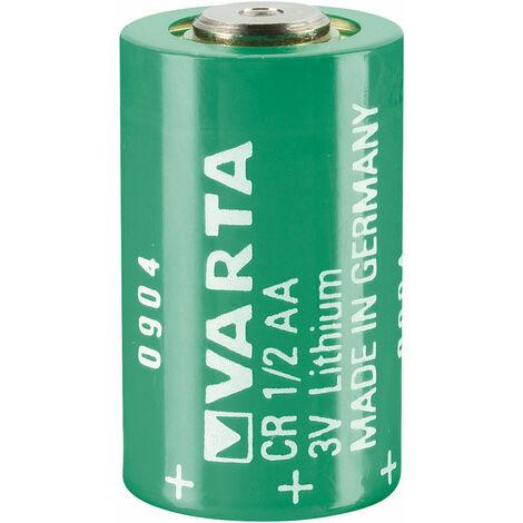 Varta CR1/2AA 3V 970mAh Lithium Battery Cell