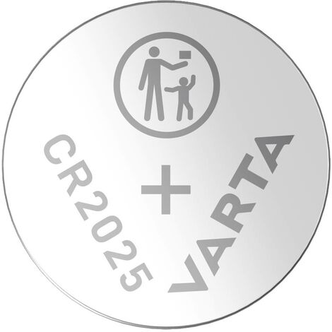 Varta Electronics CR2025 Knopfzelle CR 2025 Lithium 157 mAh 3V 2St. S82598