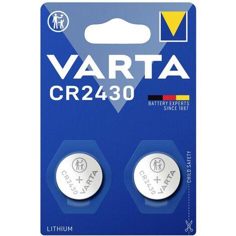 Varta Electronics CR2430 Knopfzelle CR 2430 Lithium 290 mAh 3V 2St. S82590