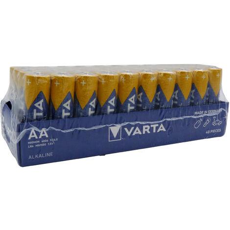 VARTA LR6 - LR06 - AA Industrial - UM3 - Boite de 40