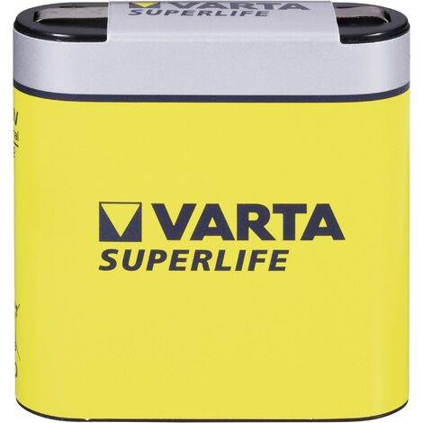Varta Superlife 3LR12 Flach-Batterie Zink-Kohle 2700 mAh 4.5V 1St. X91268
