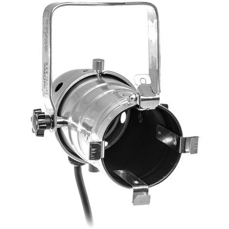 Varytec PAR-30P - Spot PAR 30 con cable - max.75W E27 230V 50Hz - Cromo