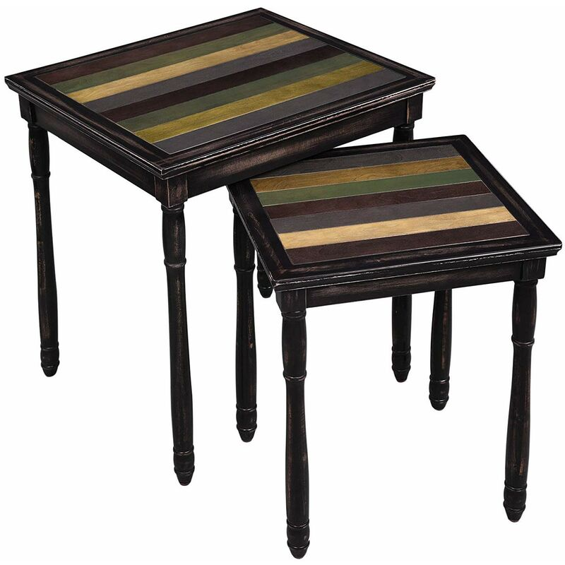 Tables Gl Coffee Table Small Side With Black Metal