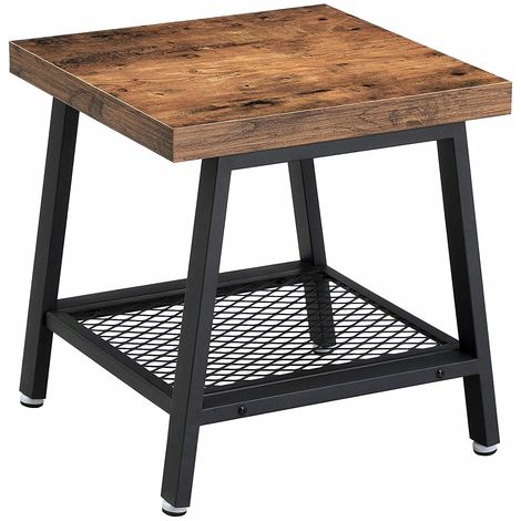 VASAGLE Table Basse, Table d\u0027appoint, Table de Chevet, Bout
