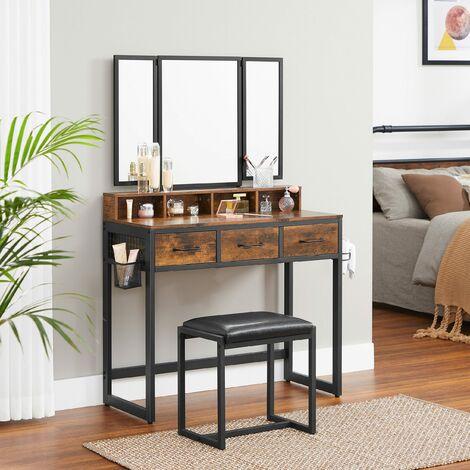 Vasagle Vanity Table Set With
