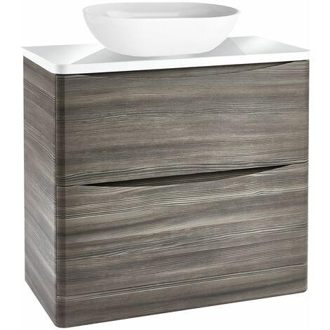 Vasari Floorstanding 900mm Vanity Unit Countertop Sink Basin Storage Cabinet