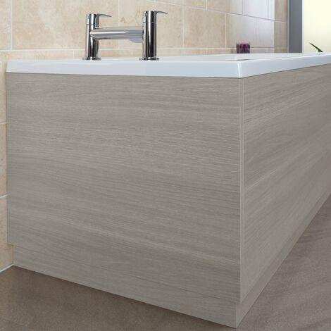 Vasari Grey Ash End Panel - 750mm