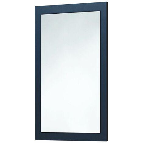 Vasari Indigo Blue Framed Mirror Wall Mounted 500mm x 800mm Versatile