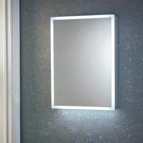 Vasari Mia LED Mirror Cabinet Demister Pad Shaver Socket 500mm x 700mm Mains