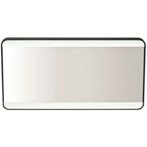 Vasari Mono LED Bathroom Mirror Demister Pad Colour Change 1200mm x 600mm Mains