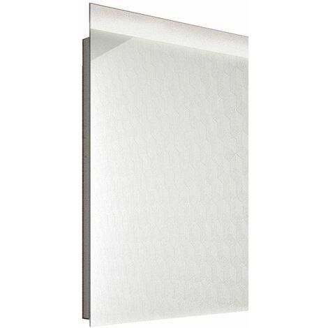 Vasari Rectangular LED Bathroom Mirror 400mm x 700mm Mains Power Stylish