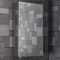 Vasari Stainless Steel Mirror Bathroom Cabinet